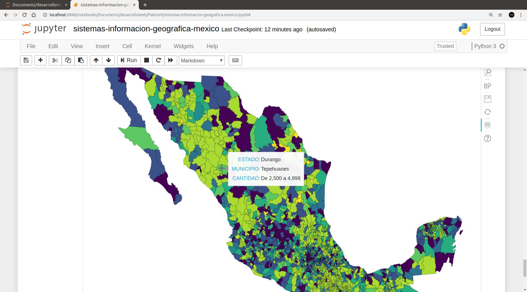 Información Geo-espacial Lenguas Indígenas México
